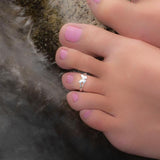 Butterfly Toe Ring