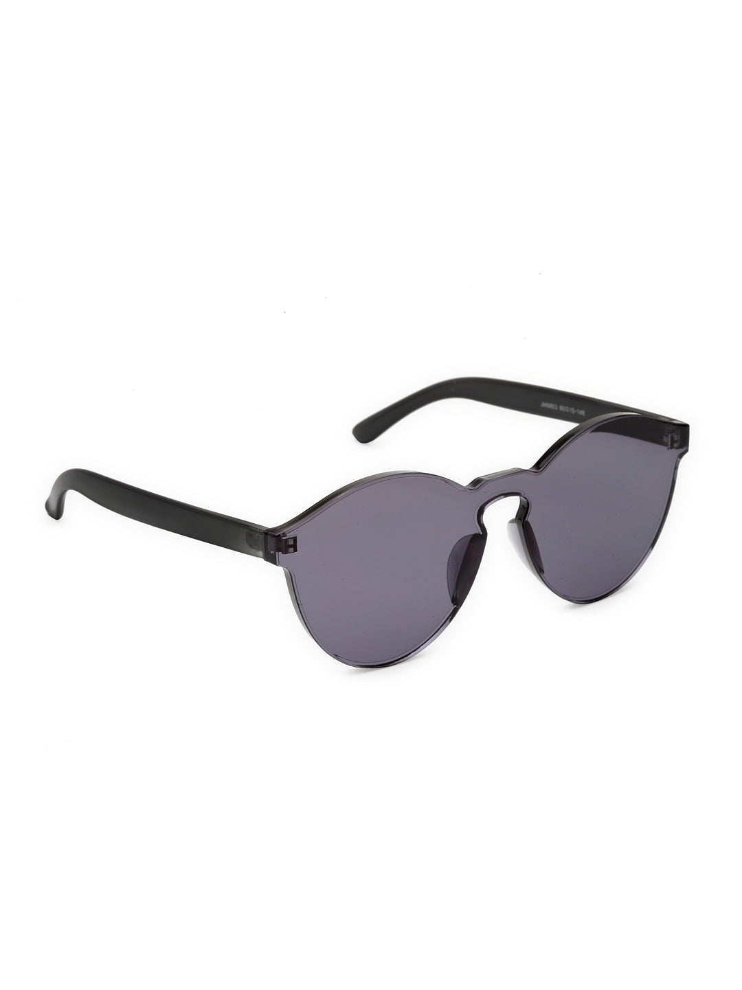 Avant-Garde Paris Transparent Rimless One Piece Candy Color Sunglasses