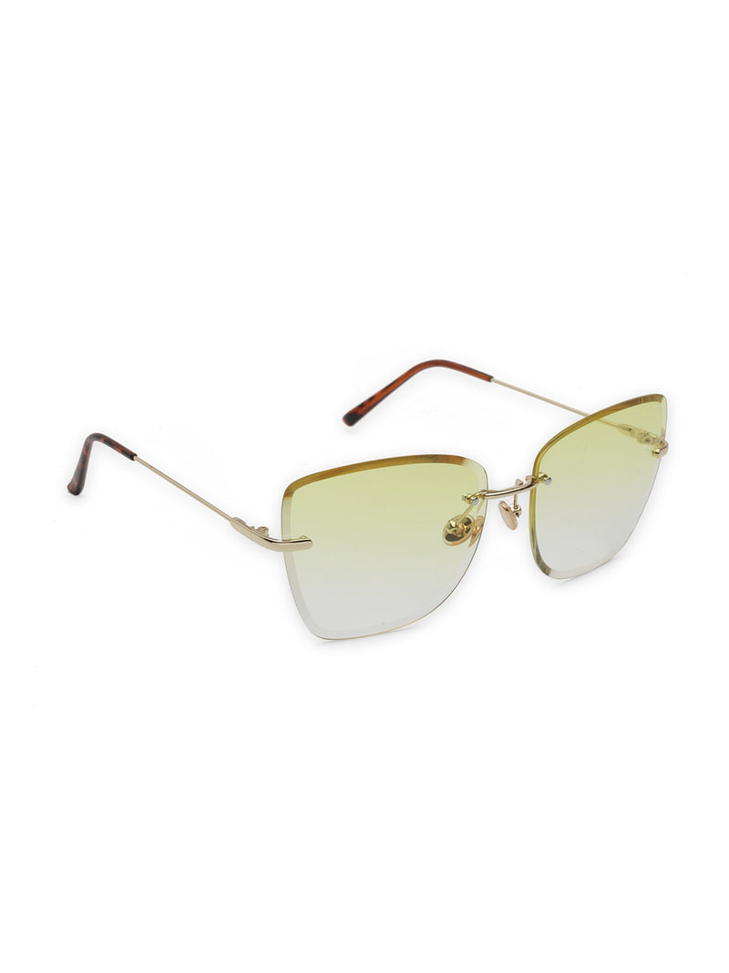 Avant-Garde Paris Summer Fashionable Rimless Ocean Sunglasses