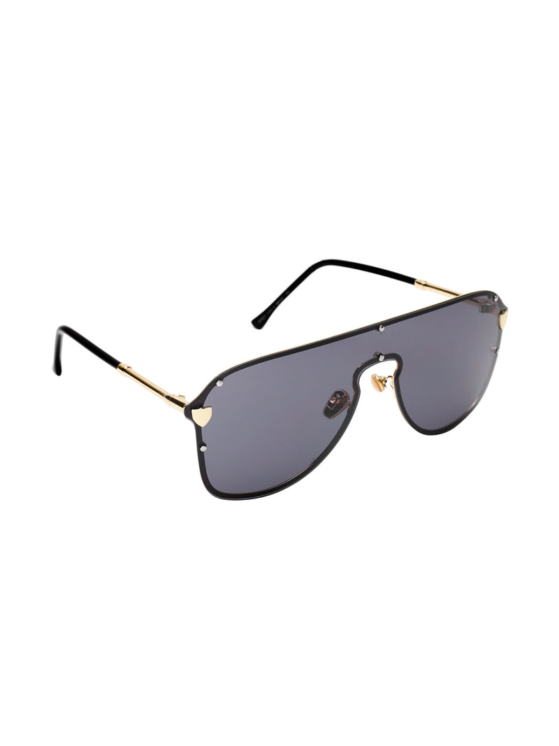 Avant-Garde Paris One Piece Fashionable Alloy Large Women Sunglasses