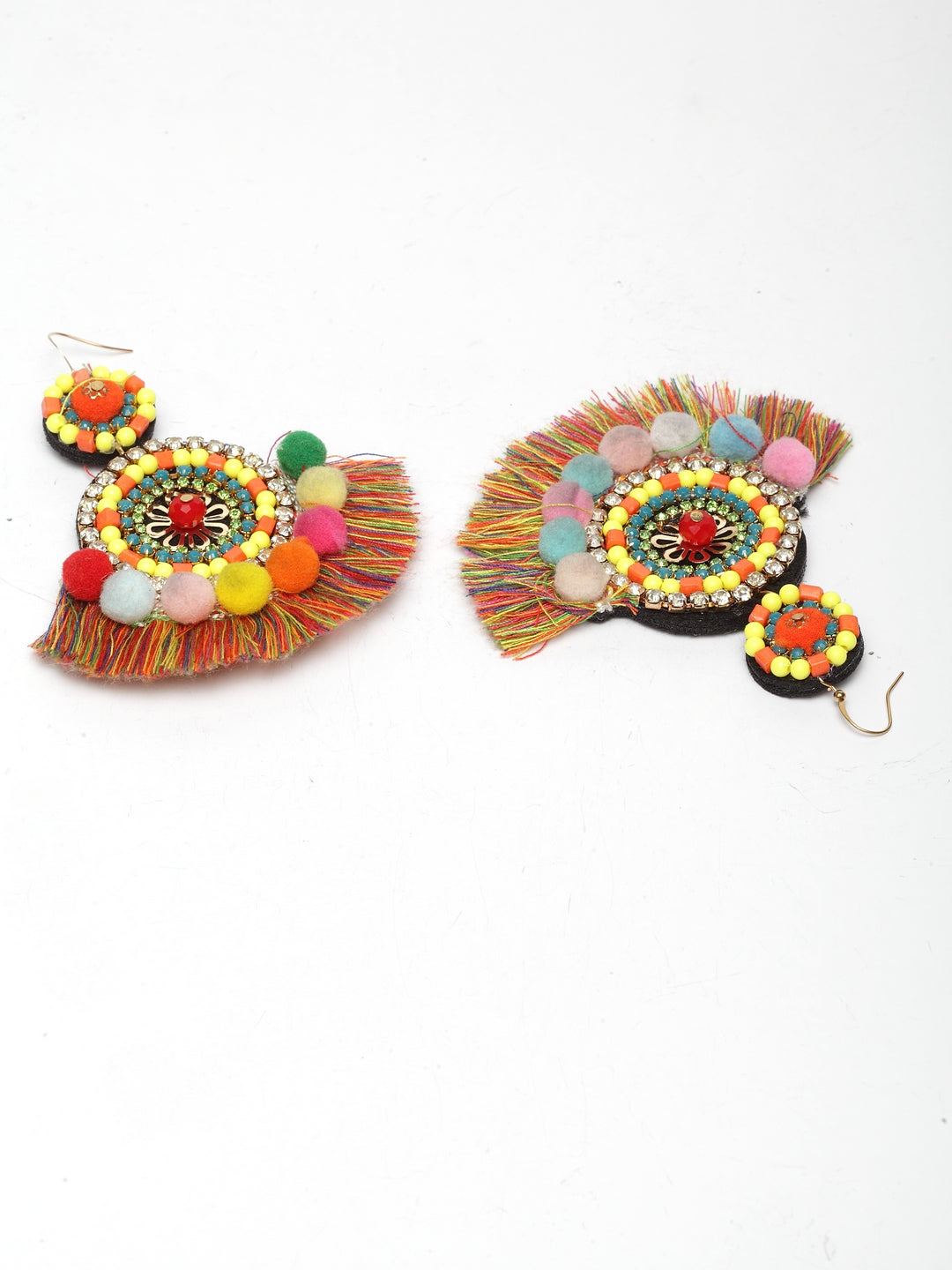 Avant-Garde Paris Boho Long Tassel Earrings