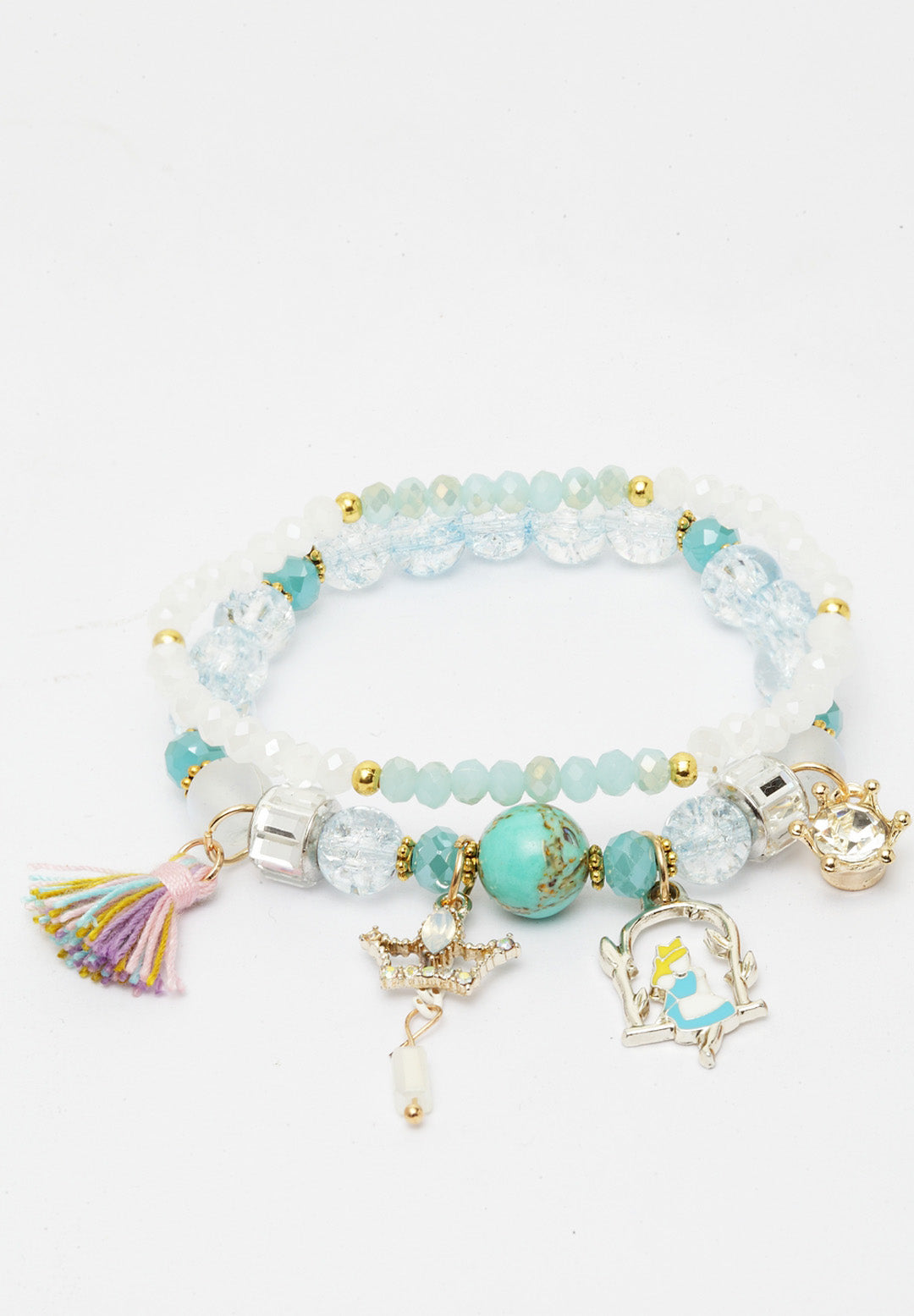 Avant-Garde Paris Double String Boho Bracelets With Tassel And Charms