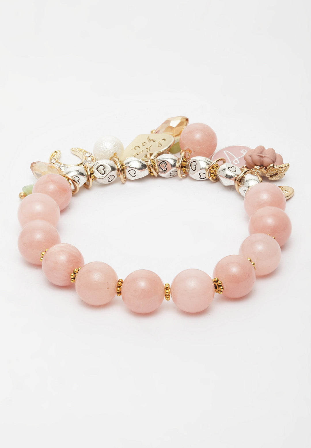 Avant-Garde Paris Boho Pearl Bracelets With Charms