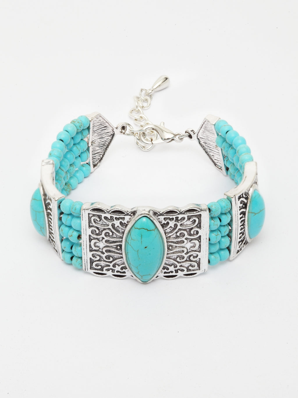Avant-Garde Paris Boho Beaded Bracelet