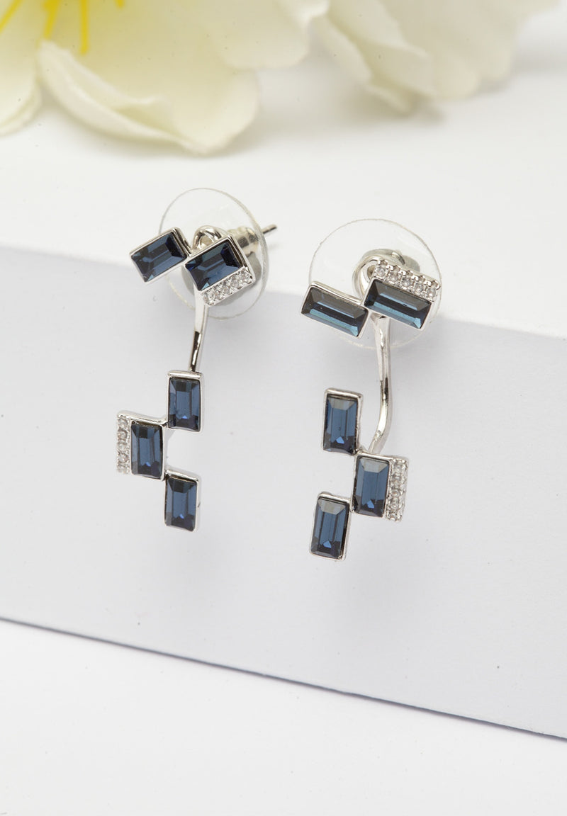 Avant-Garde Paris Crystallized with Swarovski Geometric Studs
