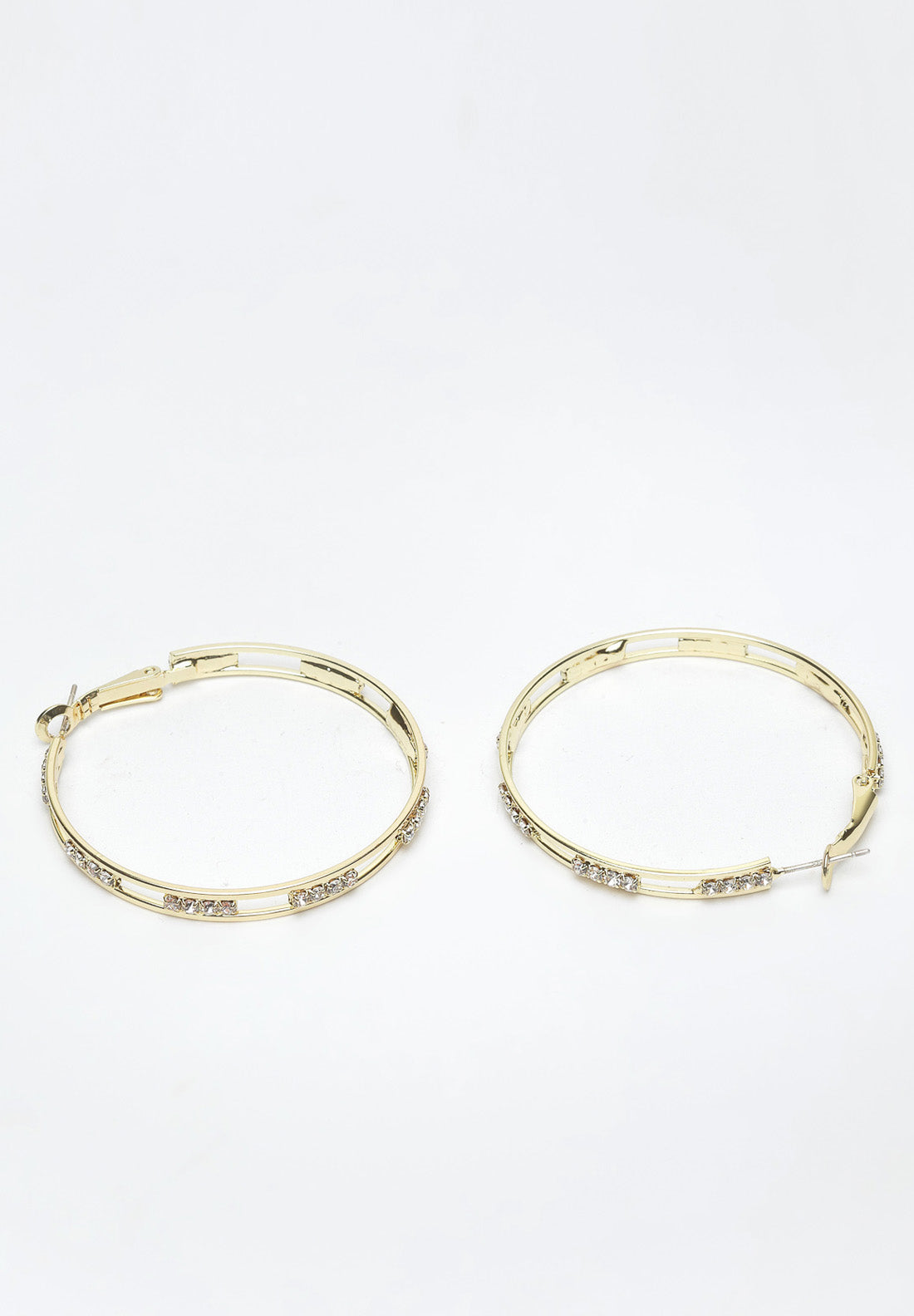 Avant-Garde Paris Gold Hoop Earrings