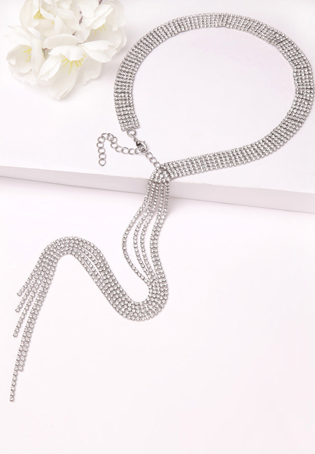Avant-Garde Paris  Crystal Choker Necklace