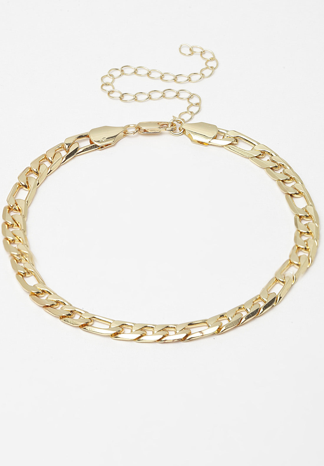 Avant-Garde Paris Gold Plated Chain Bracelet