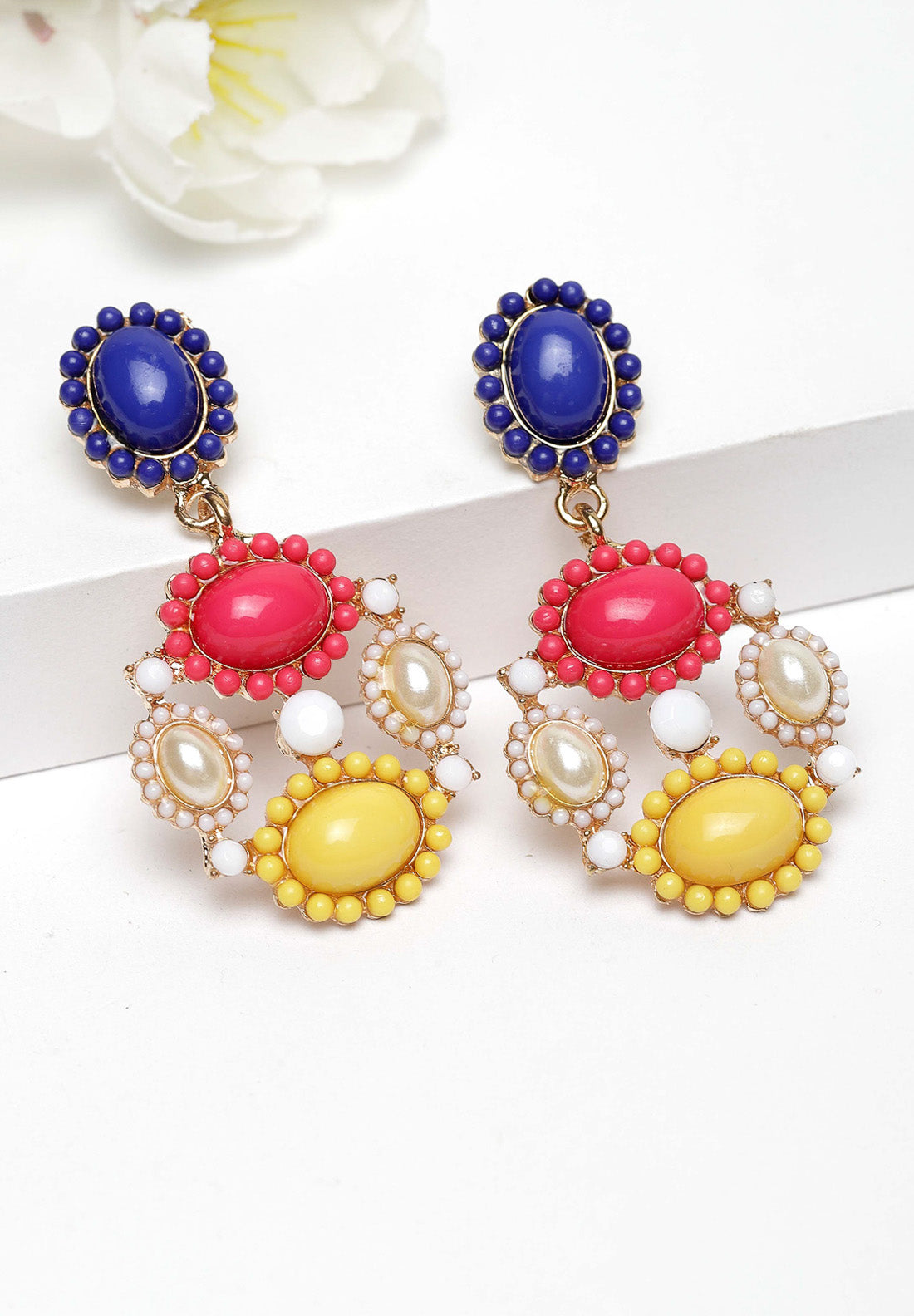 Avant-Garde Paris Multicolored Quirky Earrings