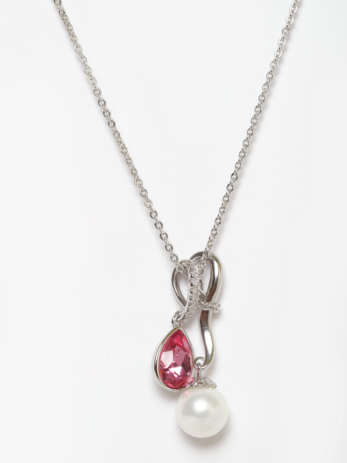 Avant-Garde Paris Pearl Pendant Crystallized With Austrian Swarovski Element