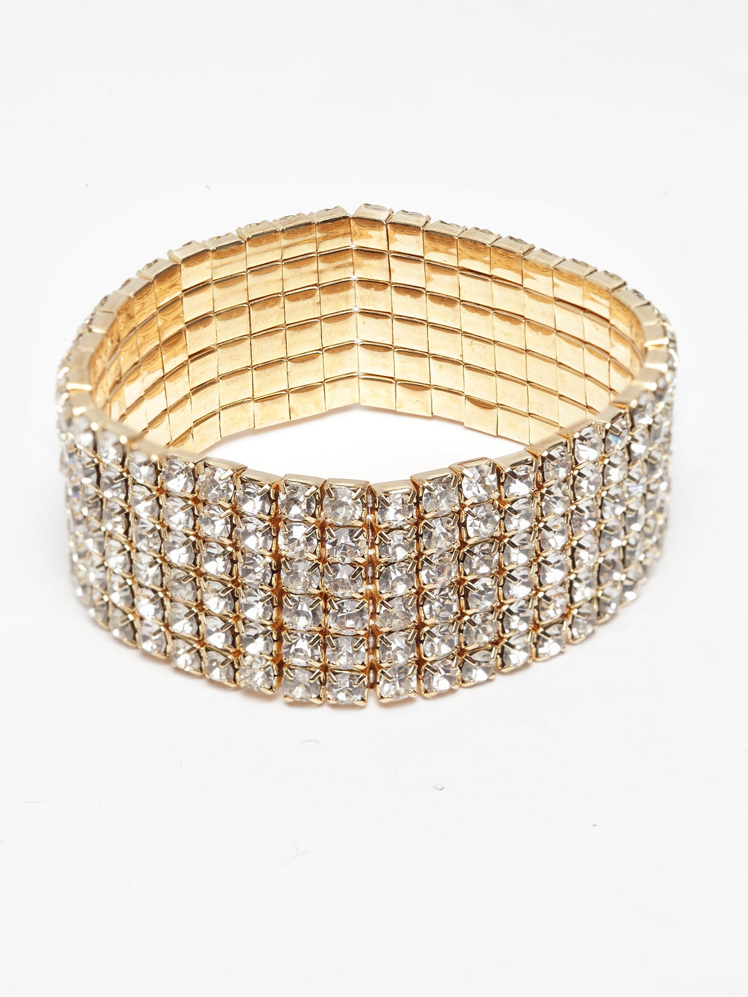 Avant-Garde Paris Luxury Elegant Crystal Tennis Multilayer Bracelet