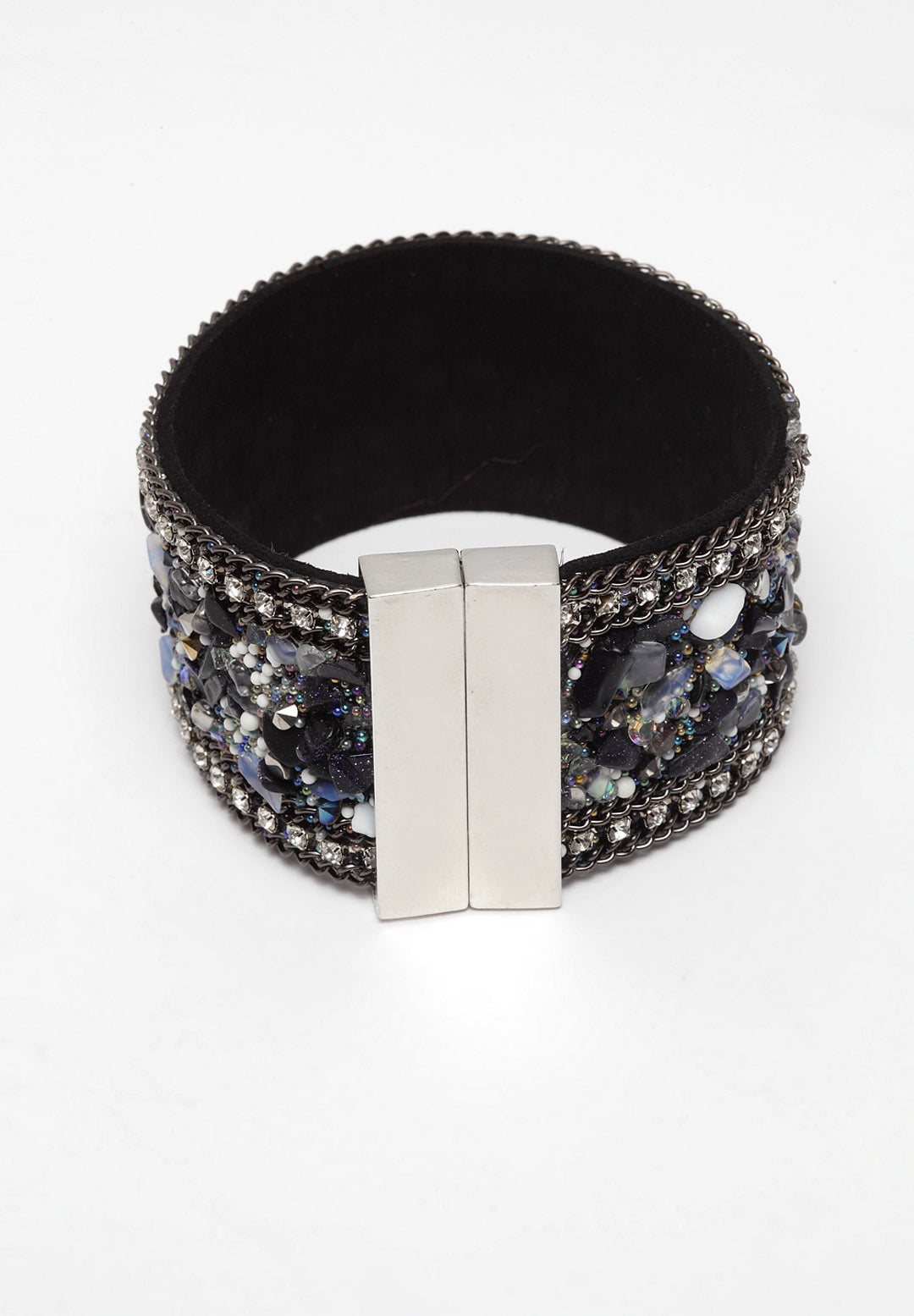 Avant-Garde Paris Luxury Bohemian Natural Stone Leather Bracelets