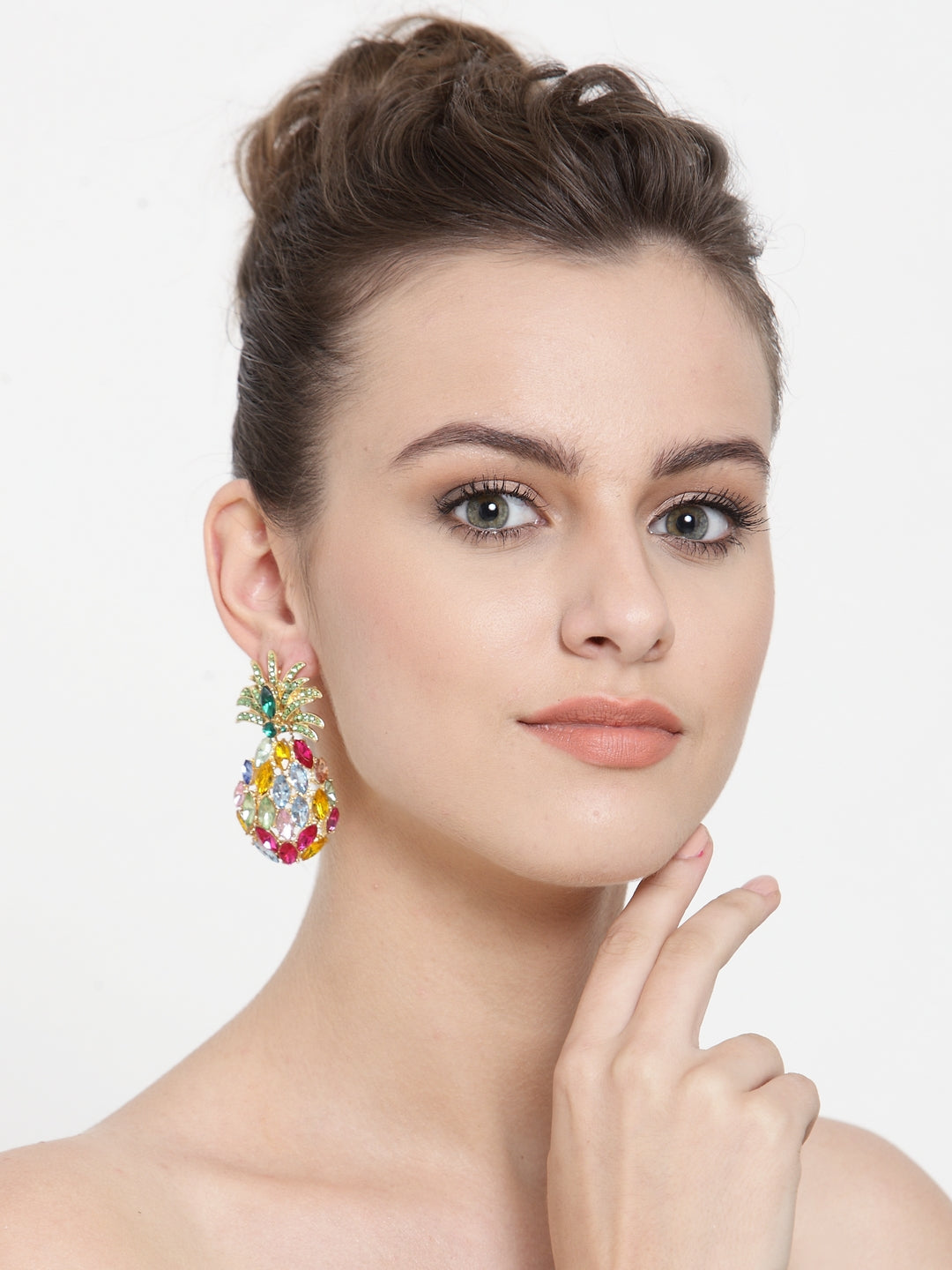 Avant-Garde Paris Crystal Fruity Earrings