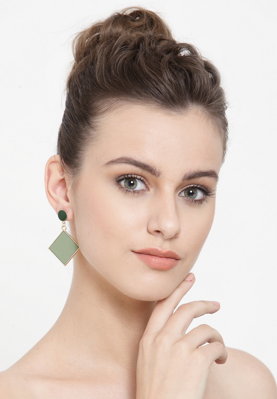 Avant-Garde Paris Statement Geometric Shape Dangle Drop Earrings