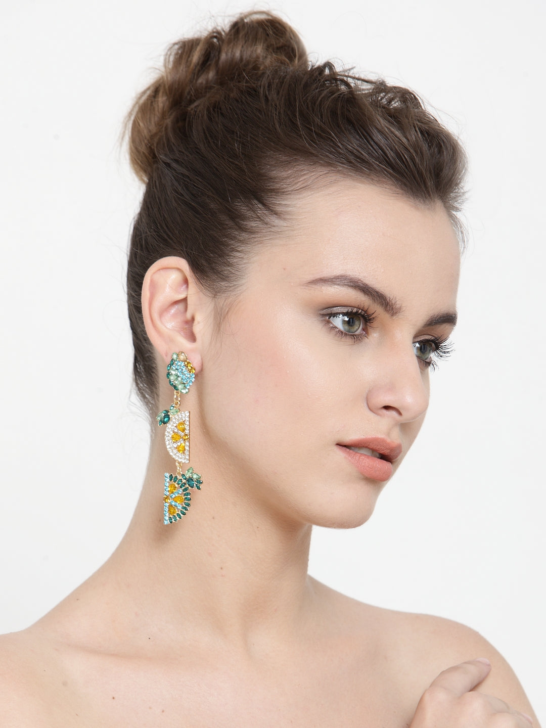 Avant-Garde Paris Statement Fruity Earrings