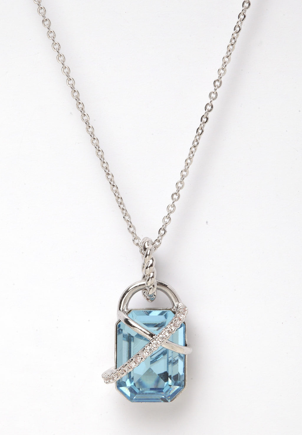 Avant-Garde Paris Crystallized with Swarovski Geometric Pendant