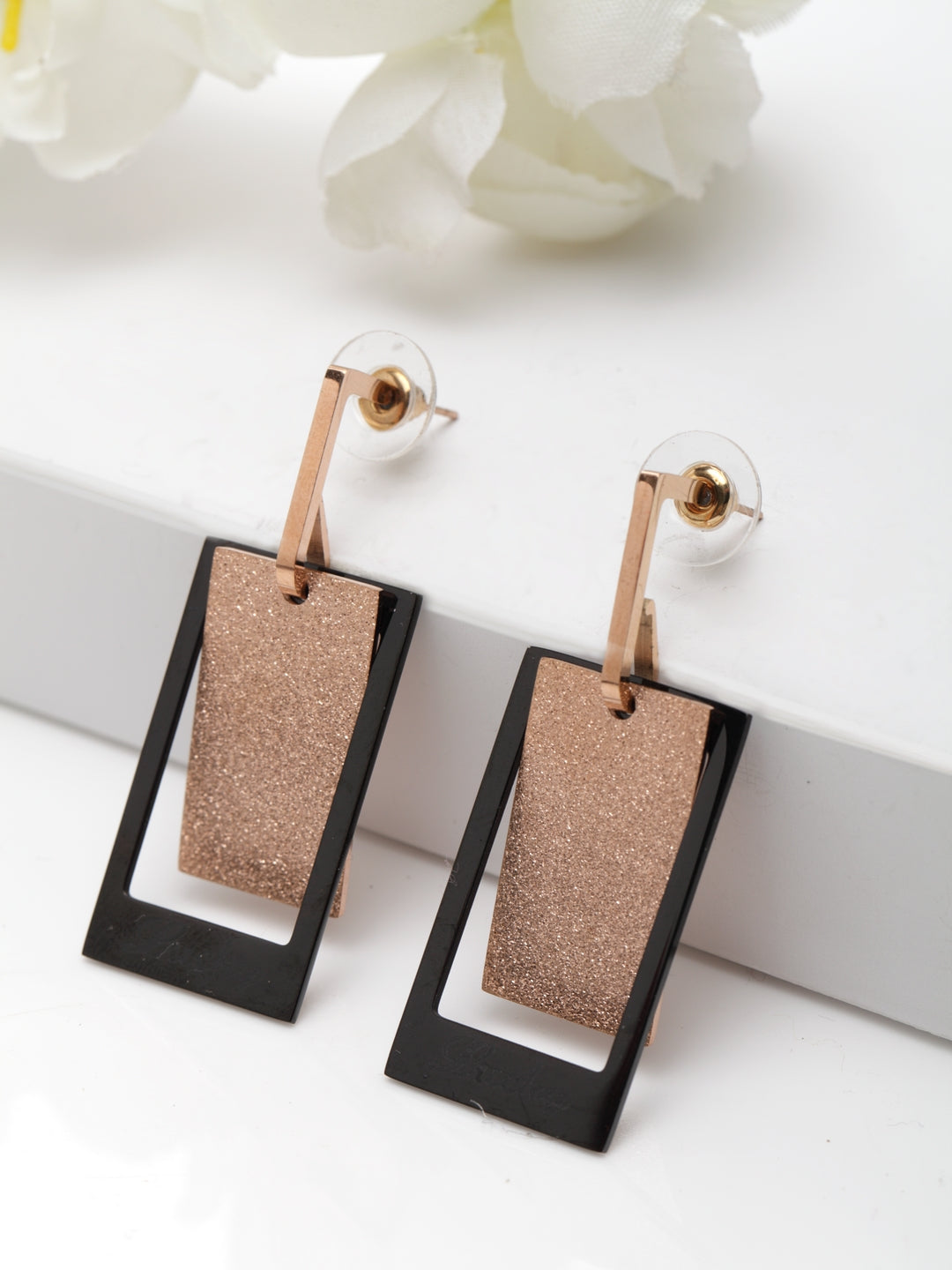 Avant-Garde Paris Geometric Pierced Earrings