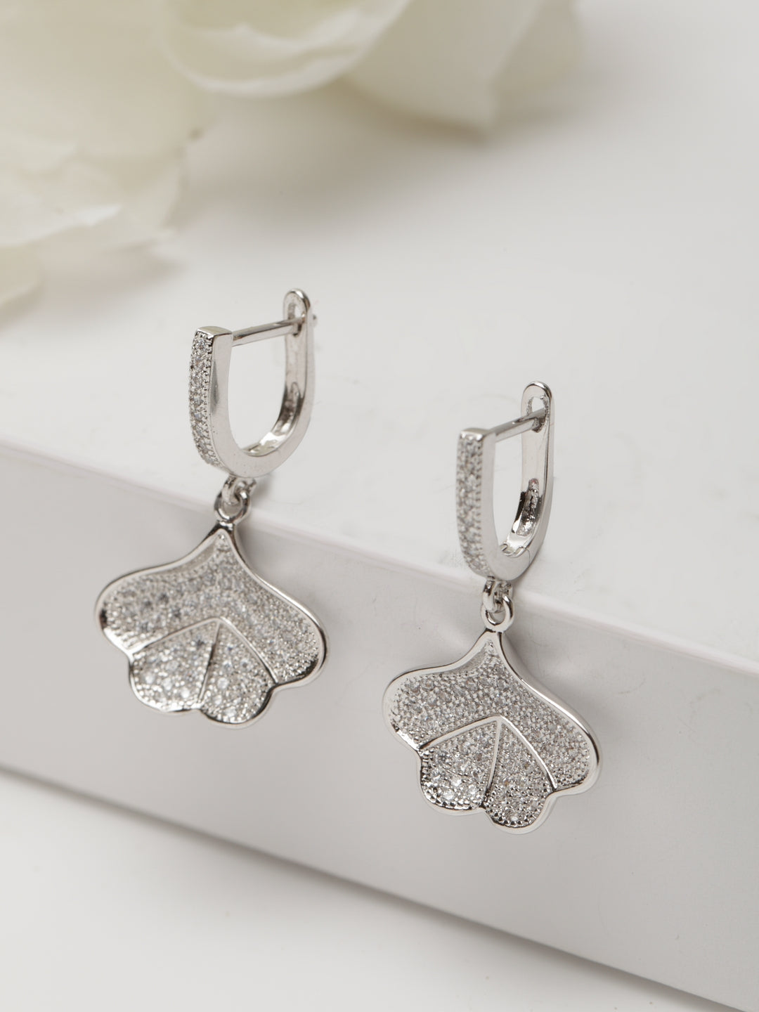 Avant-Garde Paris Luxury Cubic Zirconia Vintage Earrings