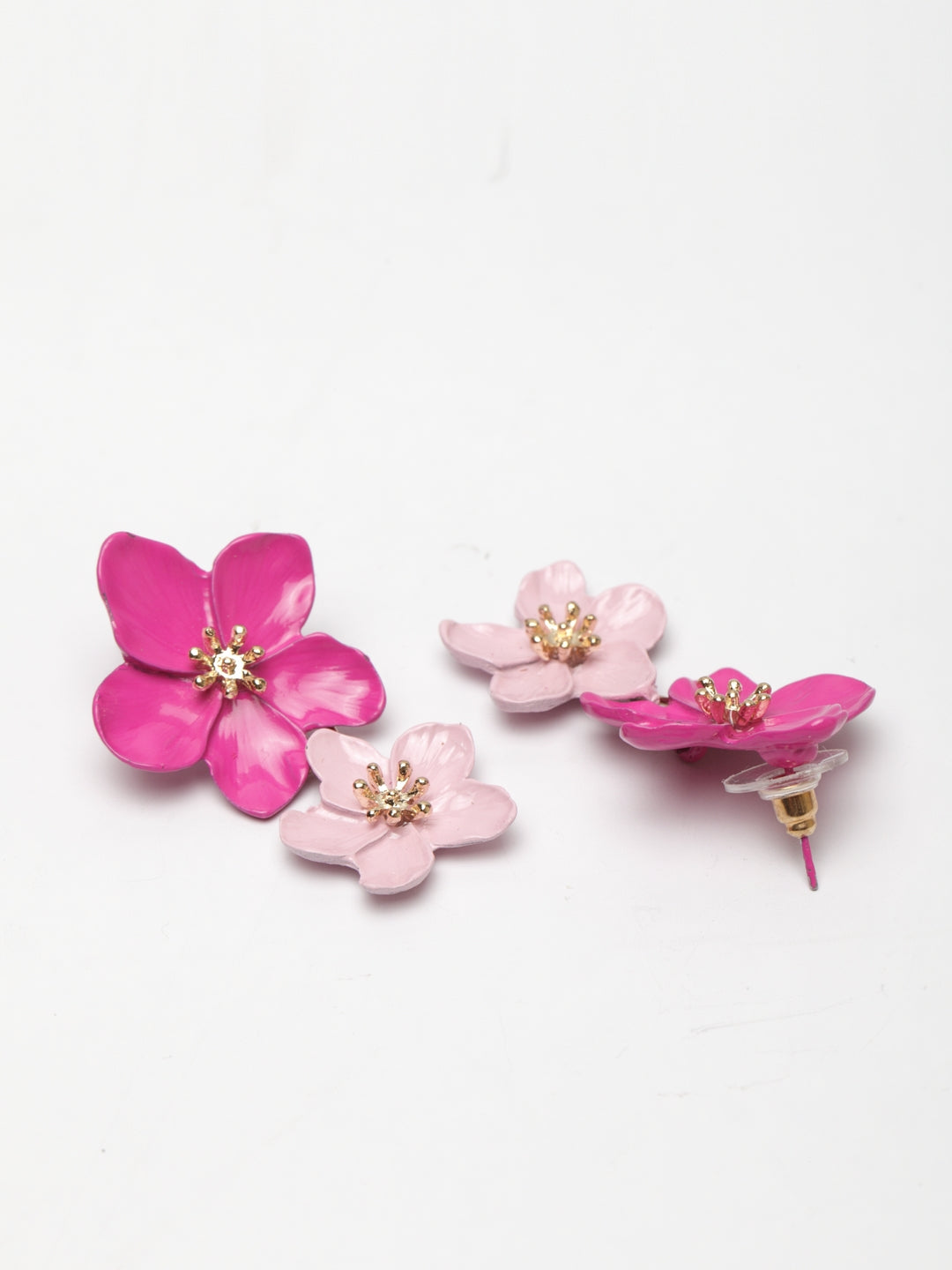 Avant-Garde Paris Floral Drop Earrings