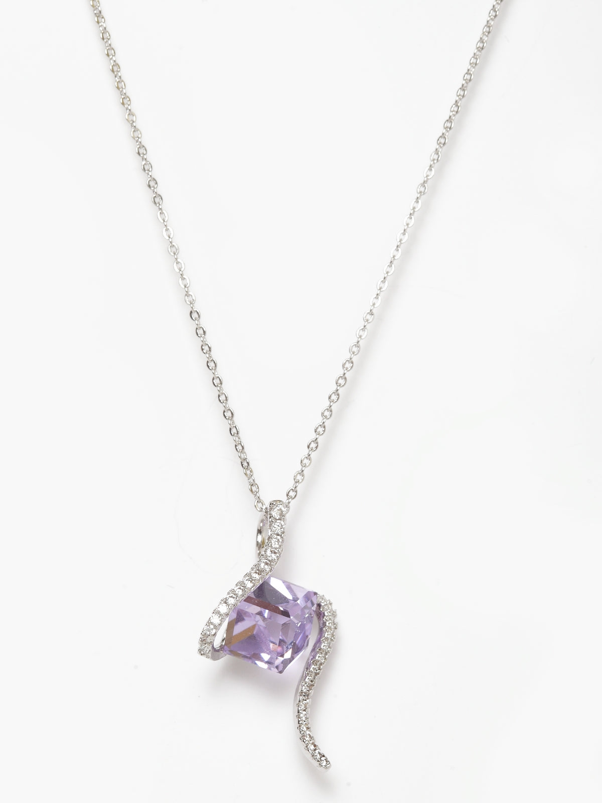 Avant-Garde Paris Cube Pendant Crystallized With Austrian Swarovski Element
