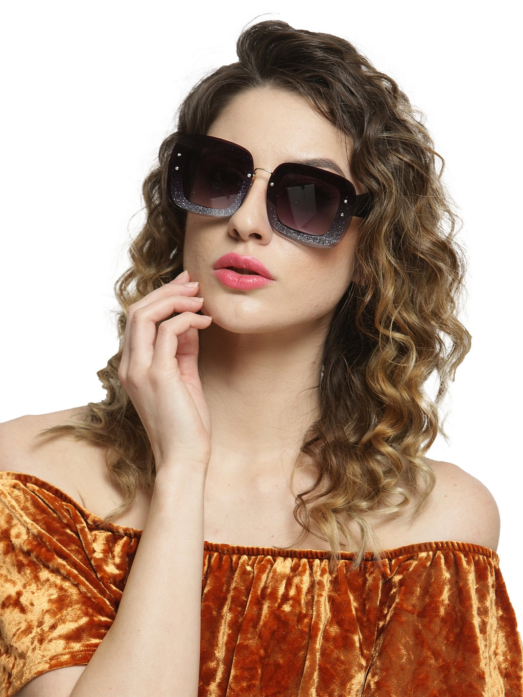 Avant-Garde Paris Vintage Luxury Retro High Street Sunglasses