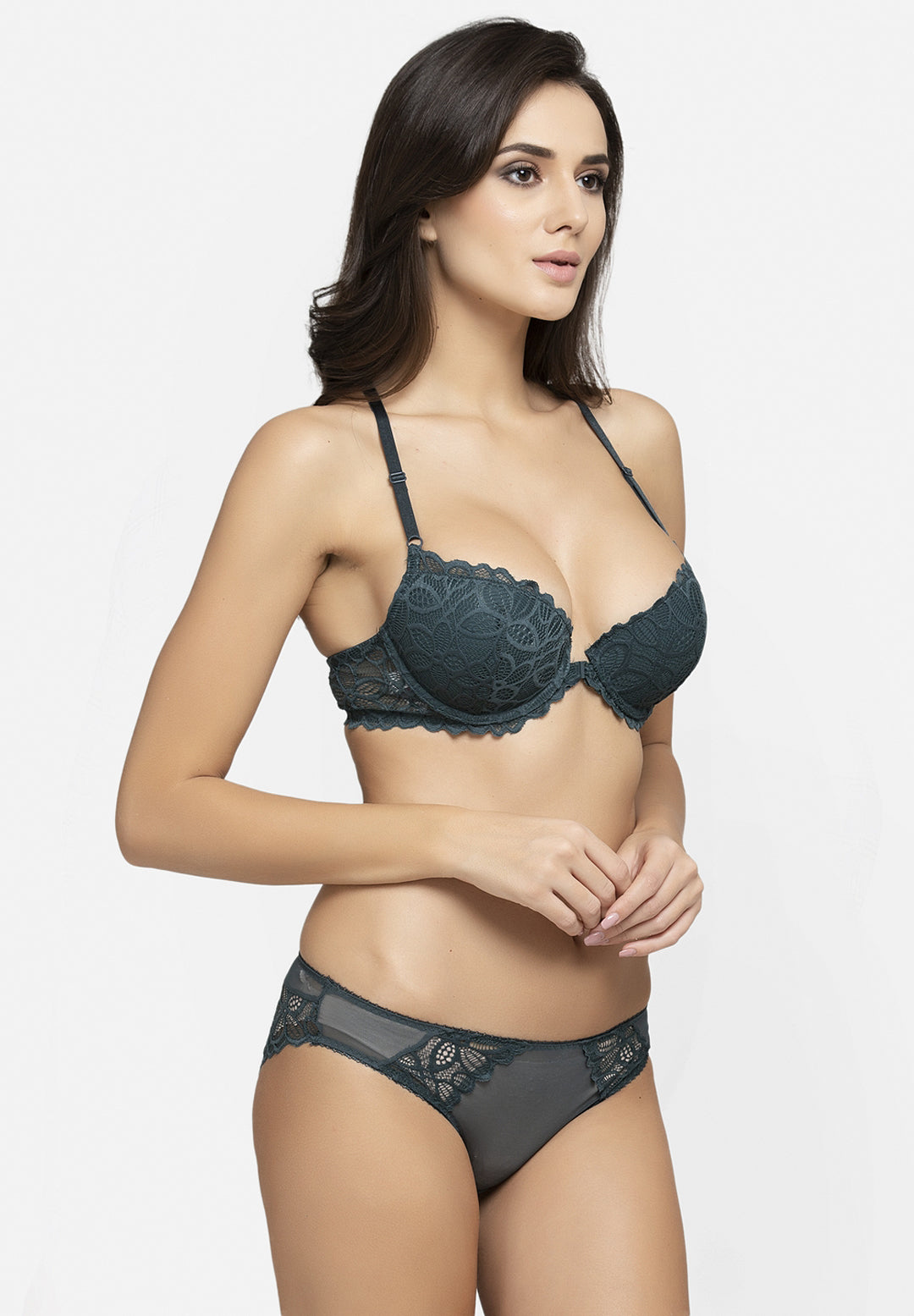 Avant-Garde Paris Padded Underwired Lace Bra Set