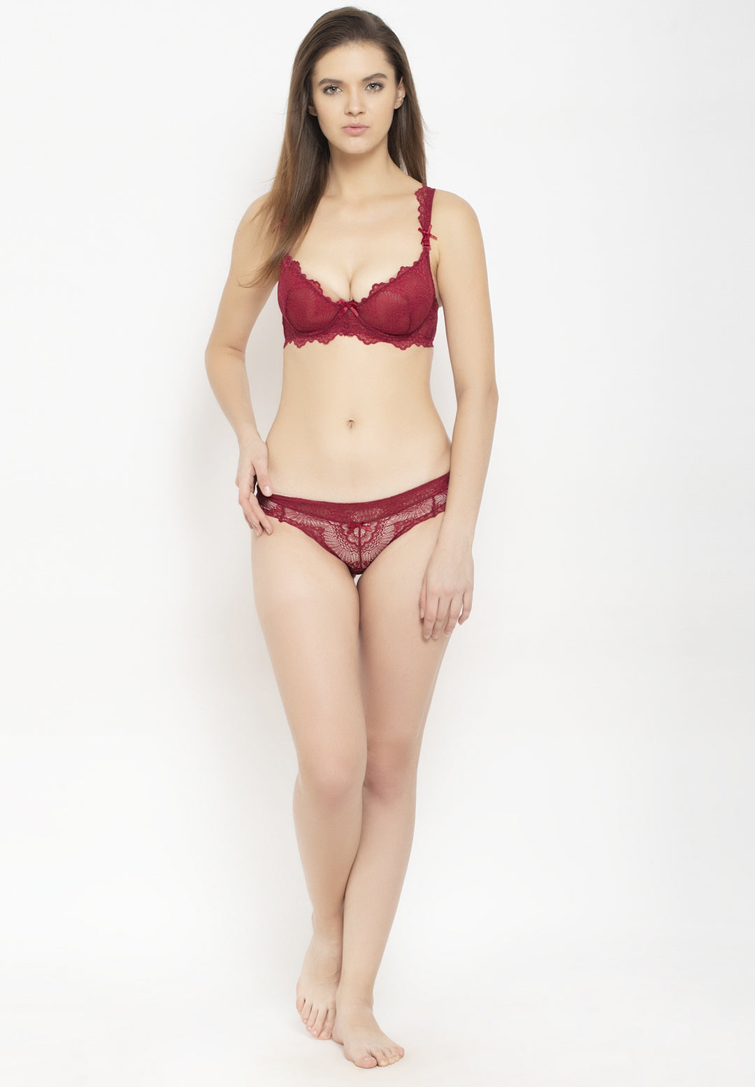 Avant-Garde Paris Padded Underwired Lace Lingerie Set