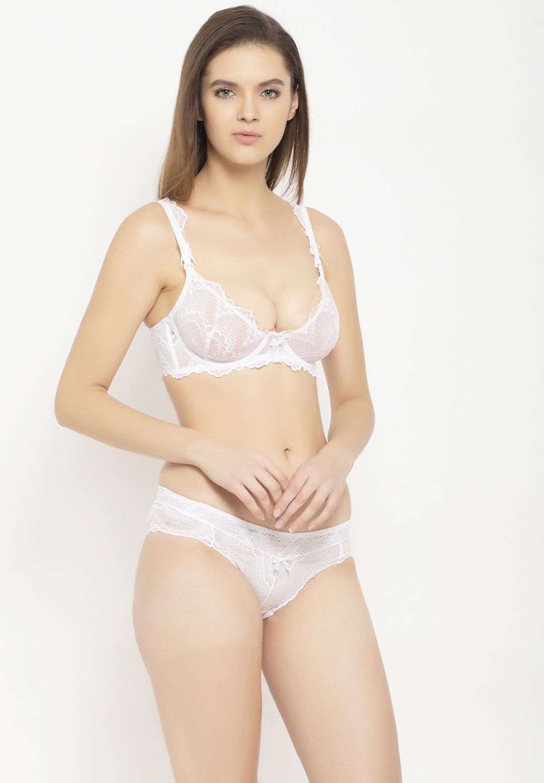 Avant-Garde Paris Non Padded Non-wired Lace Lingerie Set