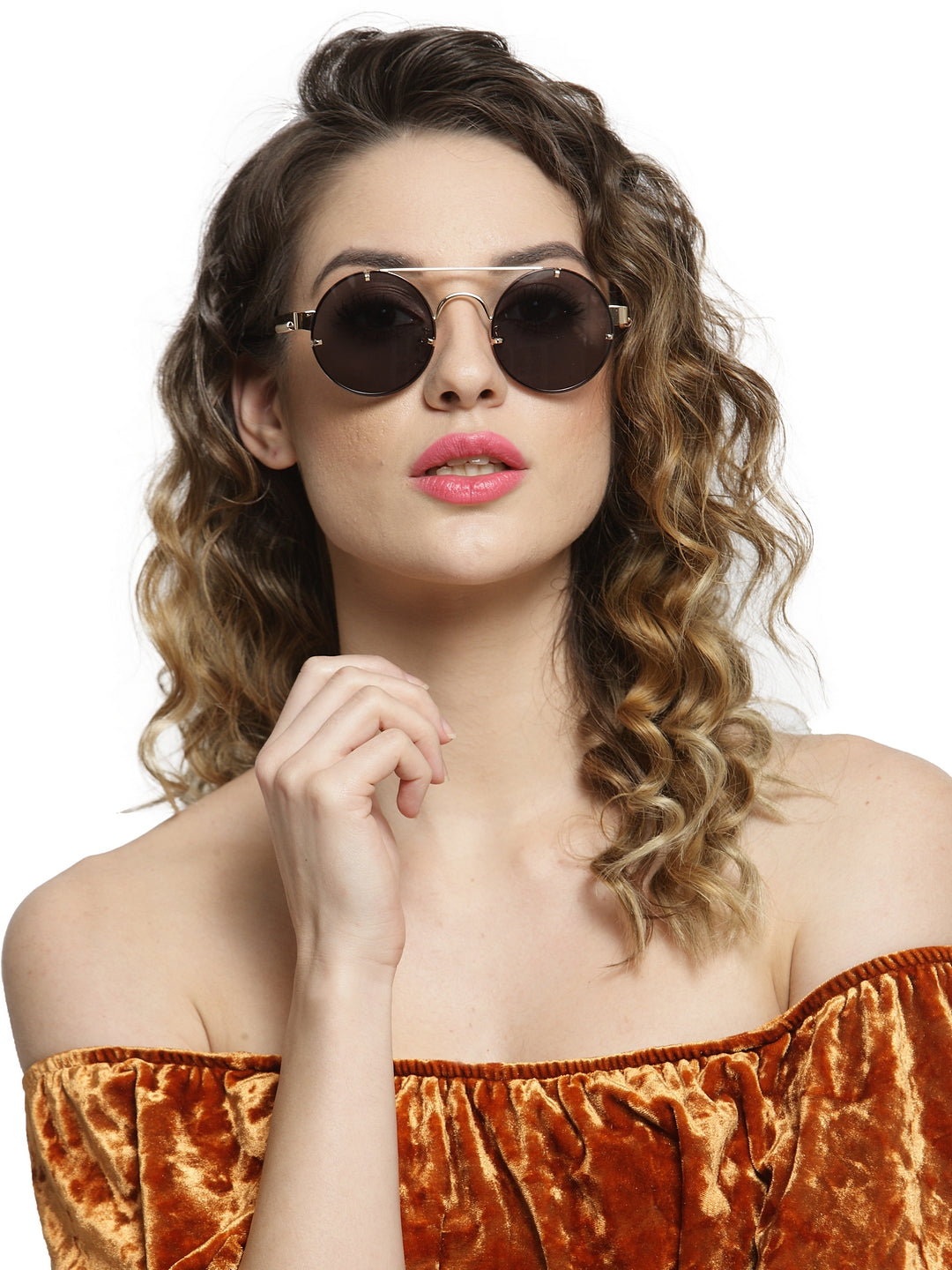 Avant-Garde Paris Fashion Driving Retro Round Polarized Sunglasses