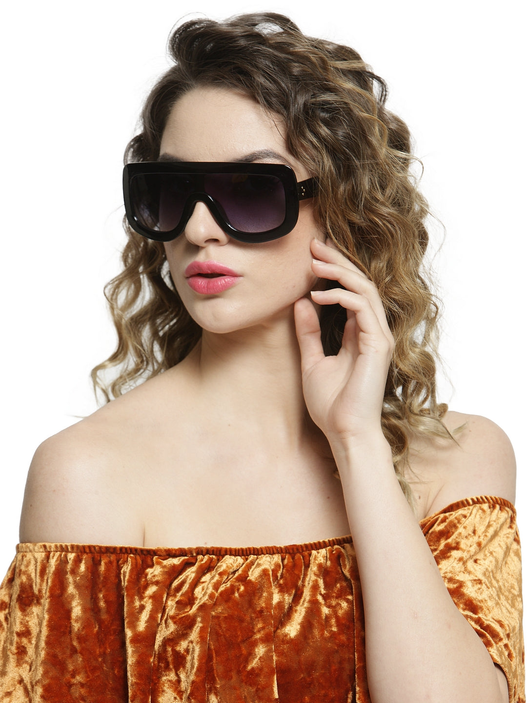 Avant-Garde Paris Luxury Vintage Big Frame Women Sunglasses