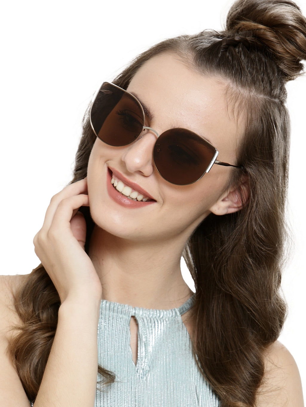 Avant-Garde Paris Fashionable Shades Cateye Sunglasses