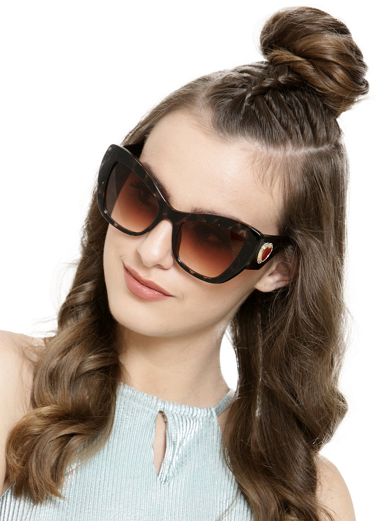 Avant-Garde Paris Vintage Oversized Cateye Sunglasses