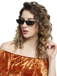 Avant-Garde Paris Vintage Small Rectangle Sunglasses for Women