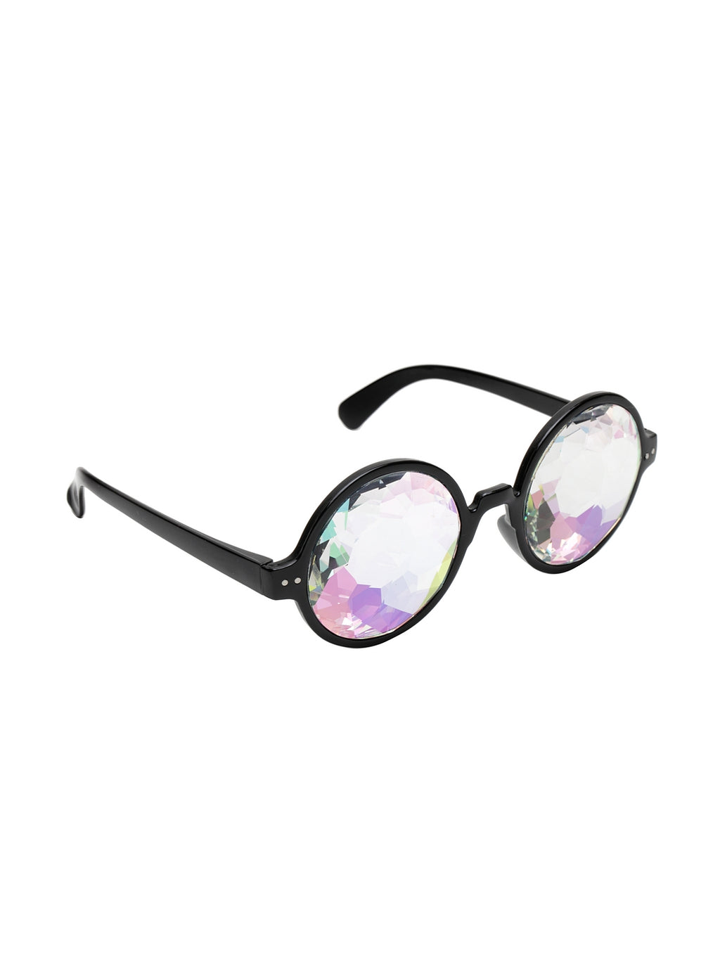 Avant-Garde Paris Diamond Lens Party Kaleidoscope Glasses Rave Prism Diffraction
