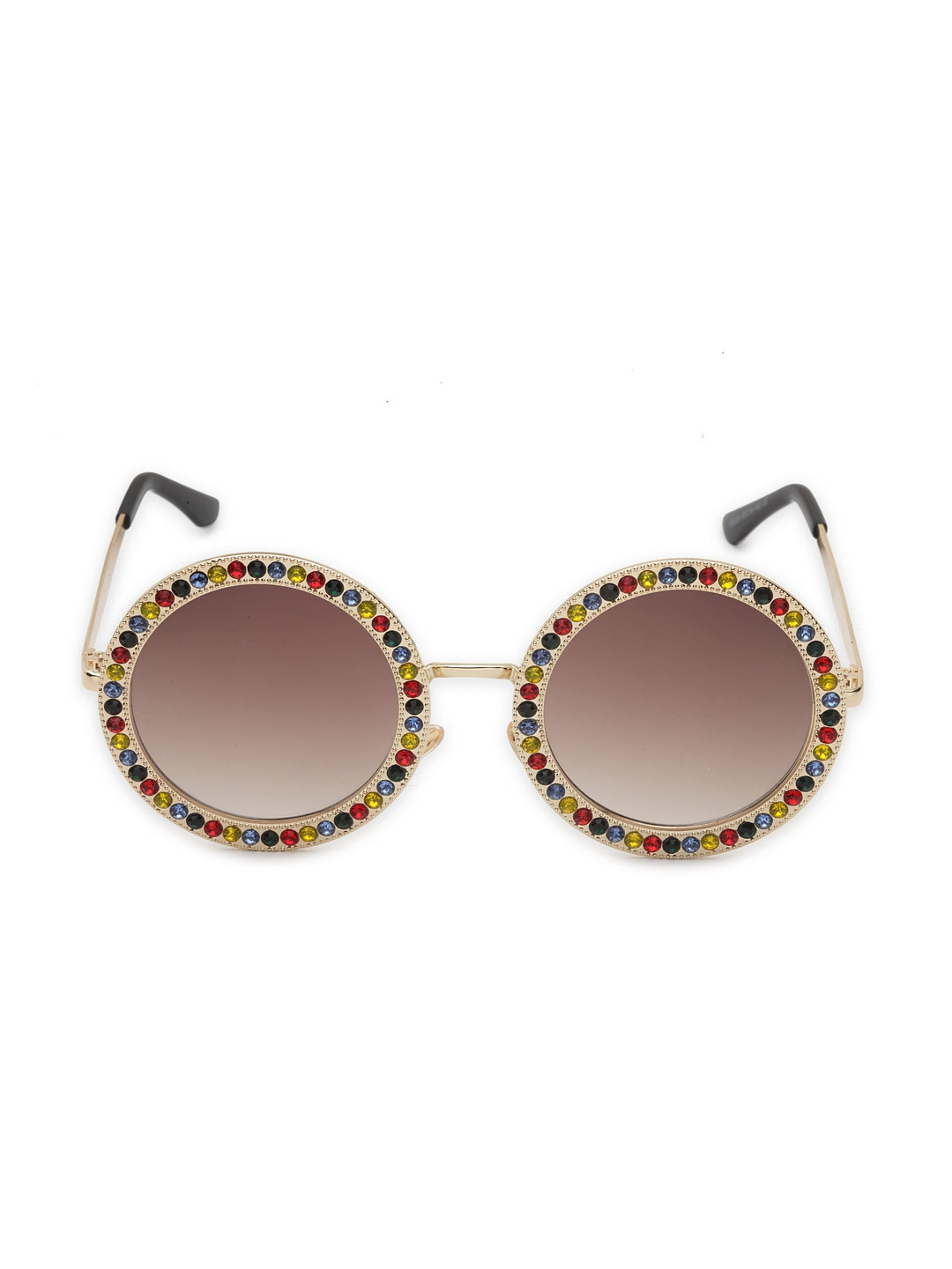 Avant-Garde Paris Cool Colorful Round Shape Sunglasses