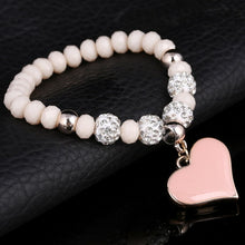 Load image into Gallery viewer, Crystal Heart Bracelets For Women