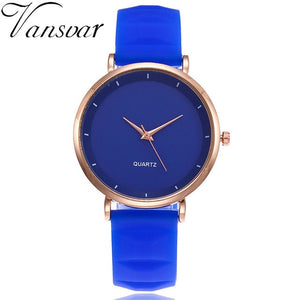 Fashion Jelly Silicone Women Watches Luxury Brand Casual
