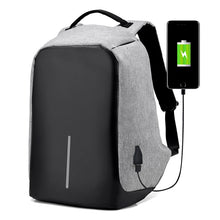 Load image into Gallery viewer, Third Generation USB Charge Anti Theft Backpack Men