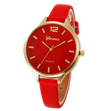 Load image into Gallery viewer, New Arrival watch women Faux lady dress watch, thin strap