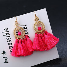 Load image into Gallery viewer, Vintage Fringe Long Tassel Earring for Women Wedding Party