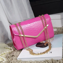 Load image into Gallery viewer, New Crocodile Messenger Bags Women Summer Fashion Bag