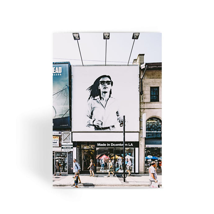 Girl in Toronto Greeting Card
