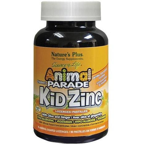 Animal Parade Kid Zinc, 动物大游行儿童补锌片, 90 Tablets