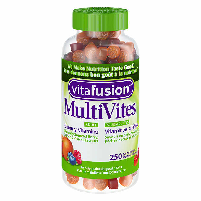 Vitafusion Adult Multivites, 成人维他命软糖,250 Gummy