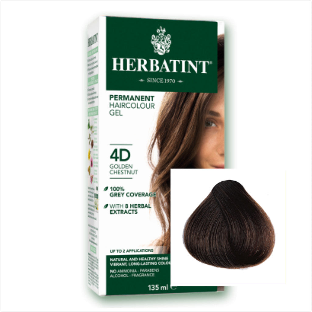 "Herbatint ""D"" Golden Series Natural Herb Based Hair Colour, 135ml"
