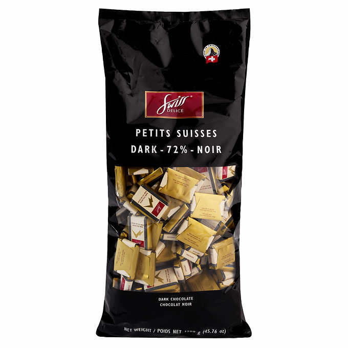 Swiss Delice Dark Chocolate, 瑞士狄妮诗黑巧克力, 1.3 kg