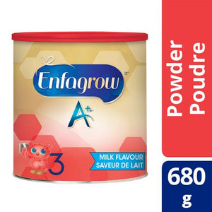 Enfagrow A+® Milk Powder, Step 3(12-36 months),美赞臣三段儿童奶粉,680g