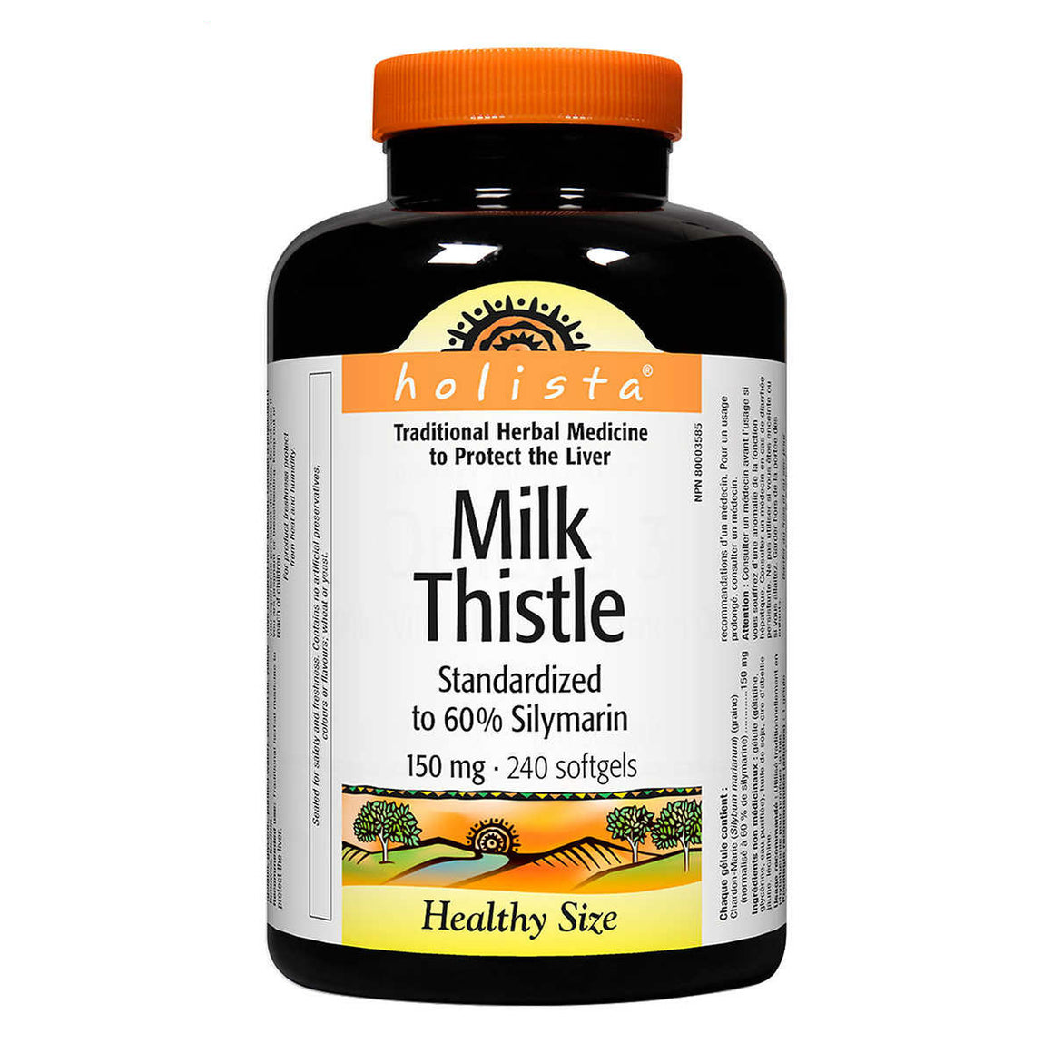 Holista Milk Thistle, 护肝片, 150mg, 240 Softgels