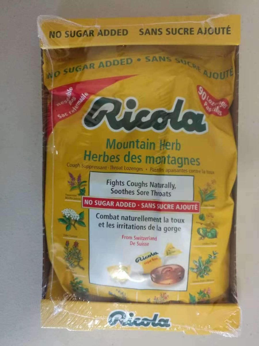 Ricola Mountain Herb Lozenges, 90's