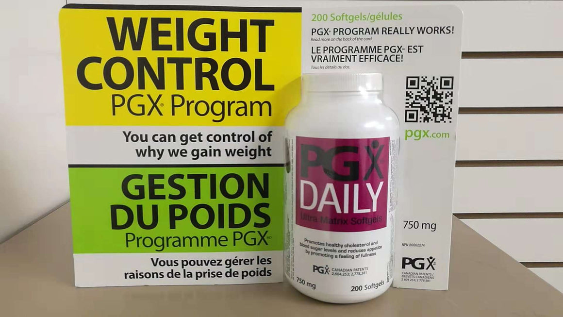 PGX® Daily, 750mg, 200 Softgels